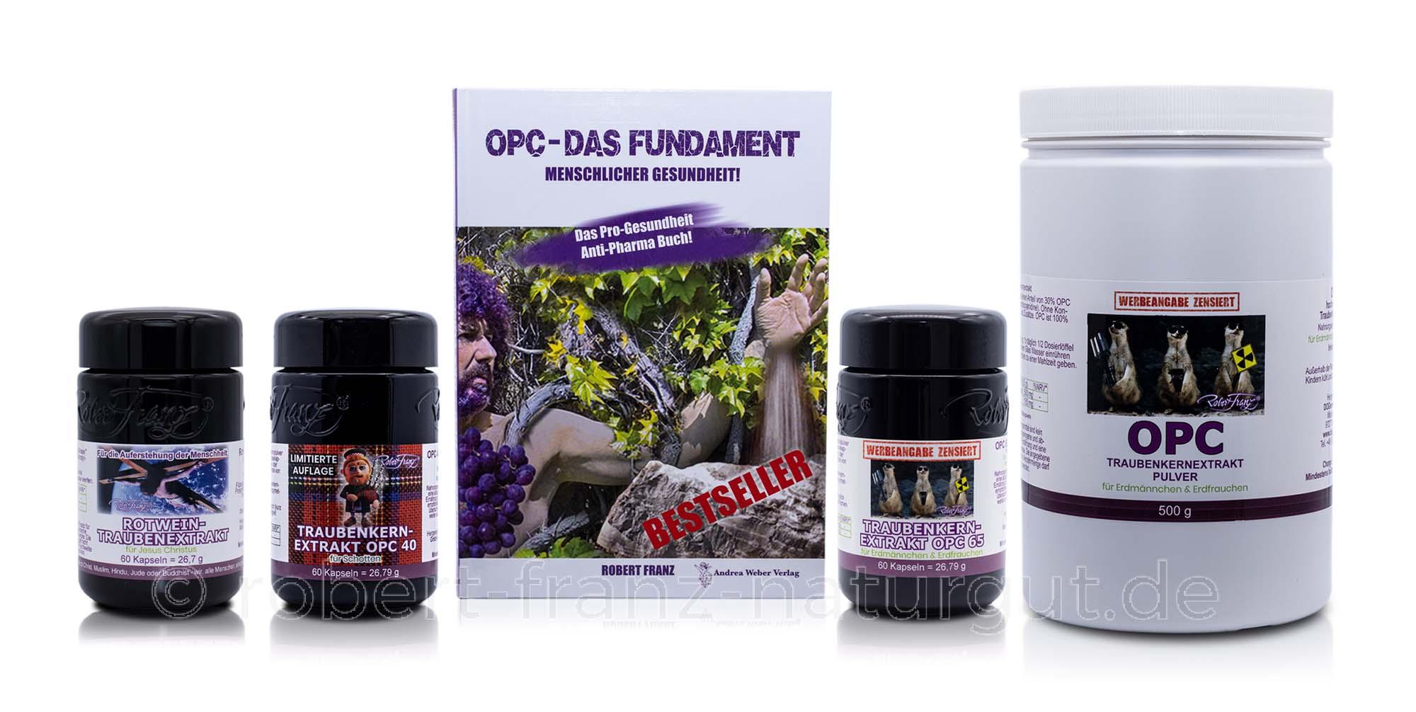 Robert Franz OPC Kapsel/Pulver Familie